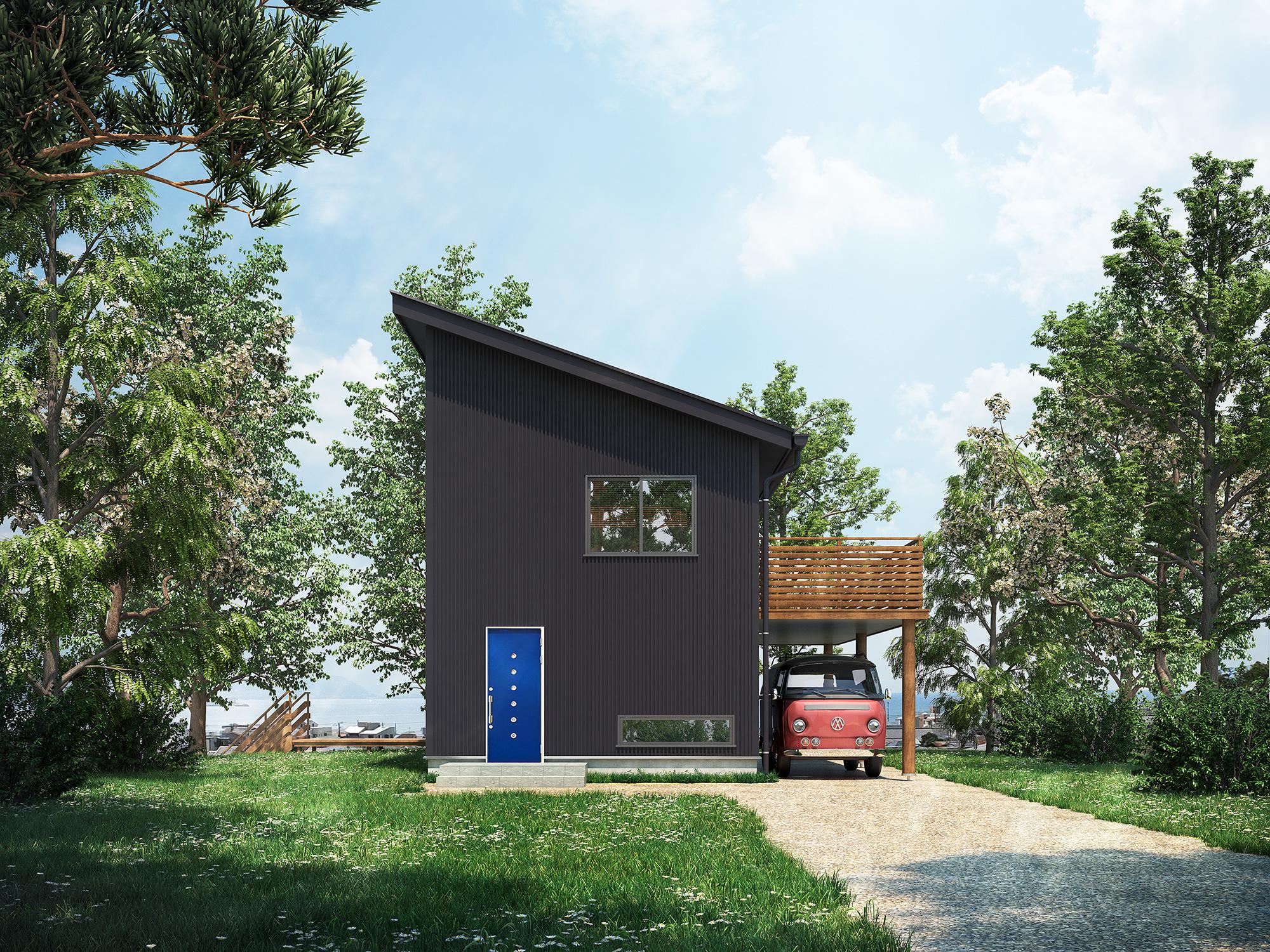 HQ-05 | 戸建て住宅パース