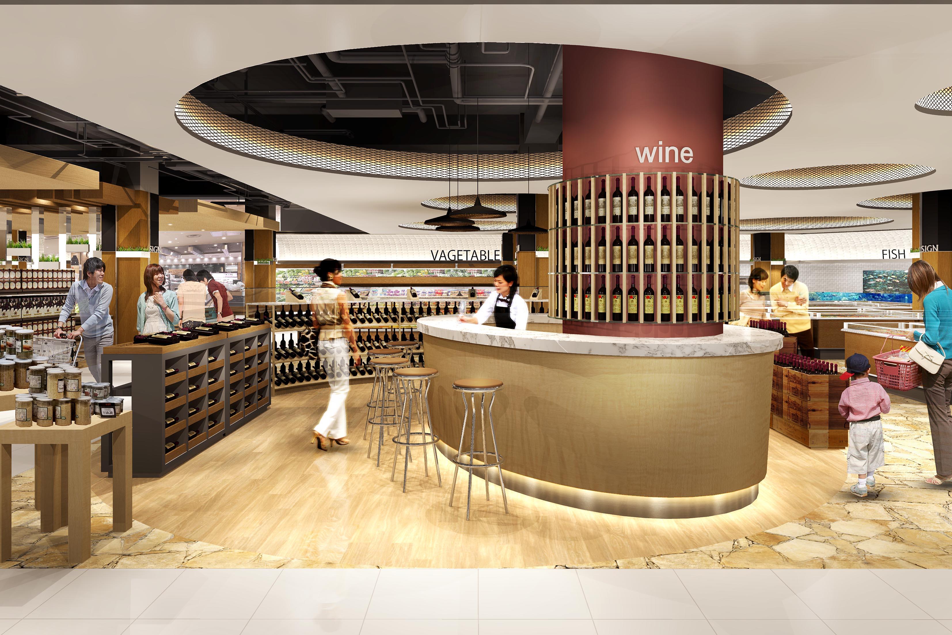 SC-01 | ワイン売り場