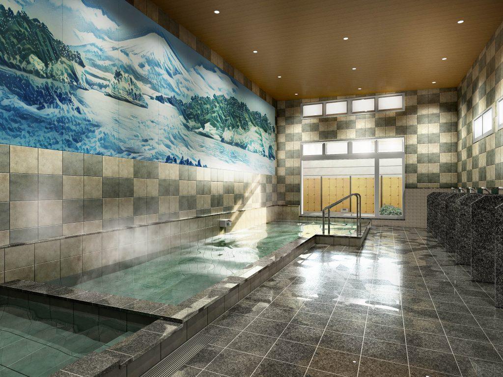 大浴場CG