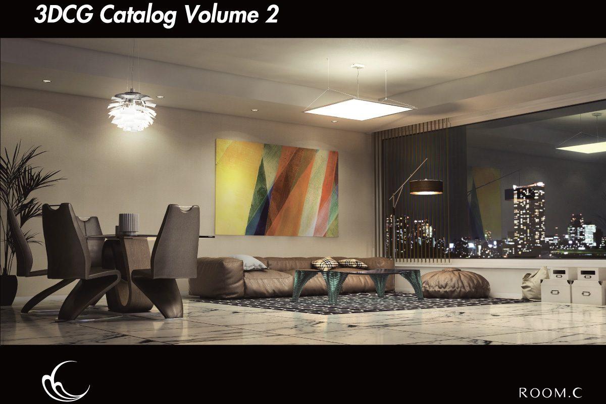建築パース カタログ 01